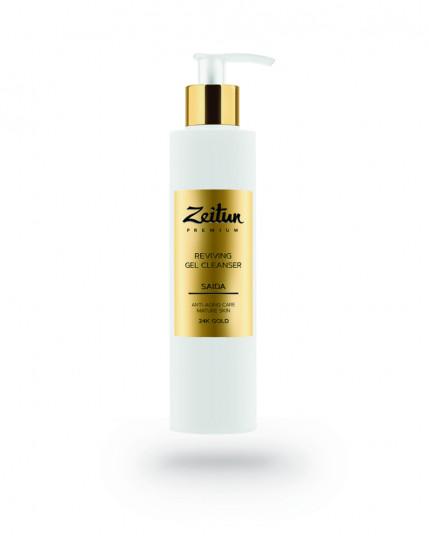 Гель для умывания Zeitun с 24K золотом в интернет-магазине натуральной косметики Crowny.ru