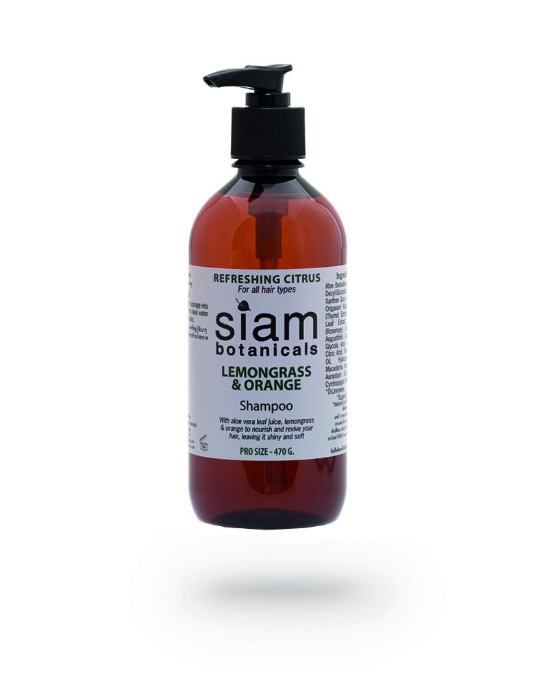 Шампунь Освежающий цитрус Siam