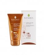 Крем от солнца SPF-50 Nature's с упаковкой в интернет-магазине натуральной косметики Crowny.ru