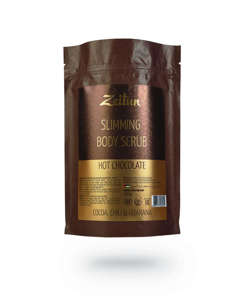 """Моделирующий скраб Zeitun для тела """"Горячий шоколад"""" в интернет-магазине натуральной косметики Crowny.ru"""