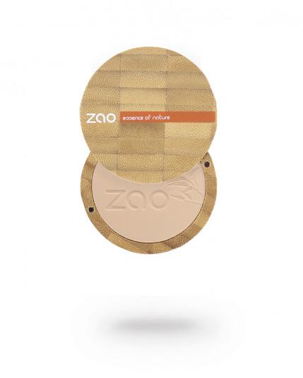 """Пудра 302 ZAO """"Персиково-бежевый"""" в интернет-магазине натуральной косметики Crowny.ru"""