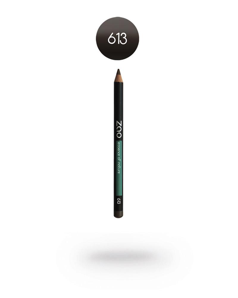 """Карандаш 613 ZAO """"Дымчато-серый"""" в интернет-магазине натуральной косметики Crowny.ru"""