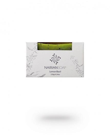 """Мыло ручной работы """"Лимонный базилик"""" Nairian"""