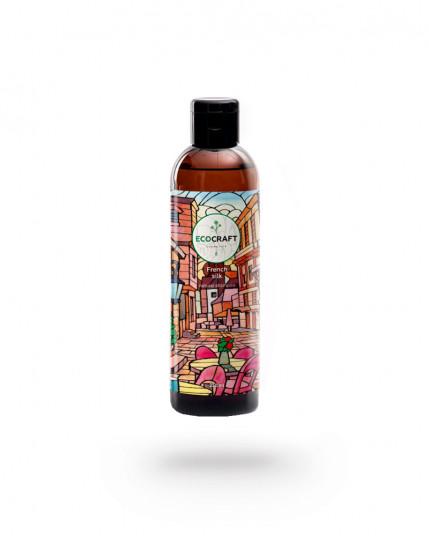 """Шампунь для нормальных и сухих волос """"French silk"""" Французский шелк 250 мл EcoCraft"""