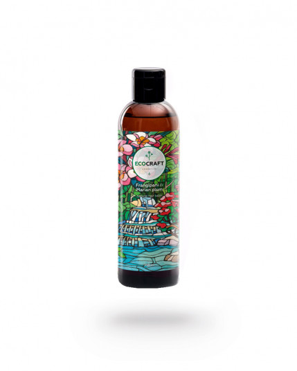 """Бальзам для укрепления и восстановления волос """"Frangipani and  Marian plum"""" Франжипани и марианская слива 250 мл EcoCraft"""