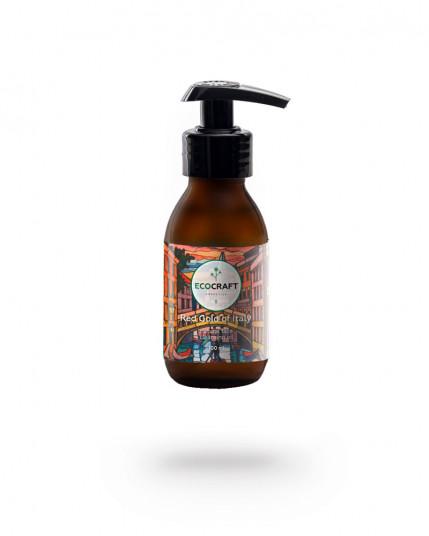 """EcoCraft - Гидрофильное масло для сухой и чувствительной кожи """"Red gold of Italy"""" Красное золото Италии 100 мл"""