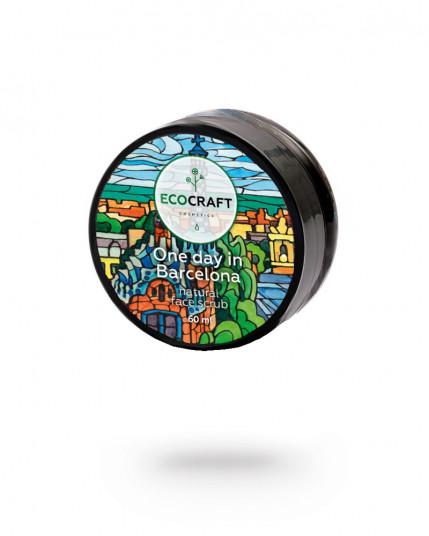 "EcoCraft - Скраб для лица для зрелой кожи ""One day in Barcelona"" Один день в Барселоне 60 мл"