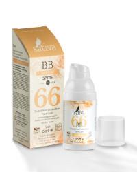 ВВ-Крем ухаживающий солнцезащитный с тонирующим эффектом Песочно-Бежевый/BB Cream-Sand Beige Sativa №66 SPF15