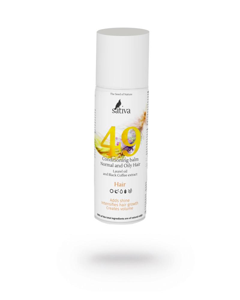 Бальзам-кондиционер для нормального и жирного типа волос Sativa №49