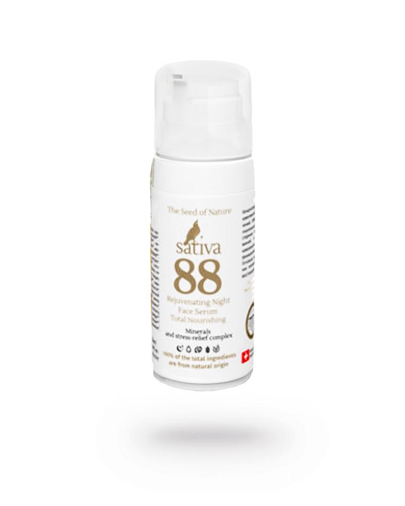 Сыворотка для лица ночная - Комплексное питание Sativa №88