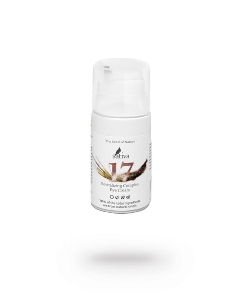 Крем Anti Age для кожи вокруг глаз комплексный Sativa №17