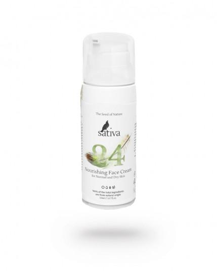 Крем для лица дневной питательный для нормального и сухого типа кожи EVERY DAY Sativa №24