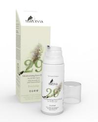 Крем флюид для лица  увлажняющий для всех типов кожи EVERY DAY Sativa №29