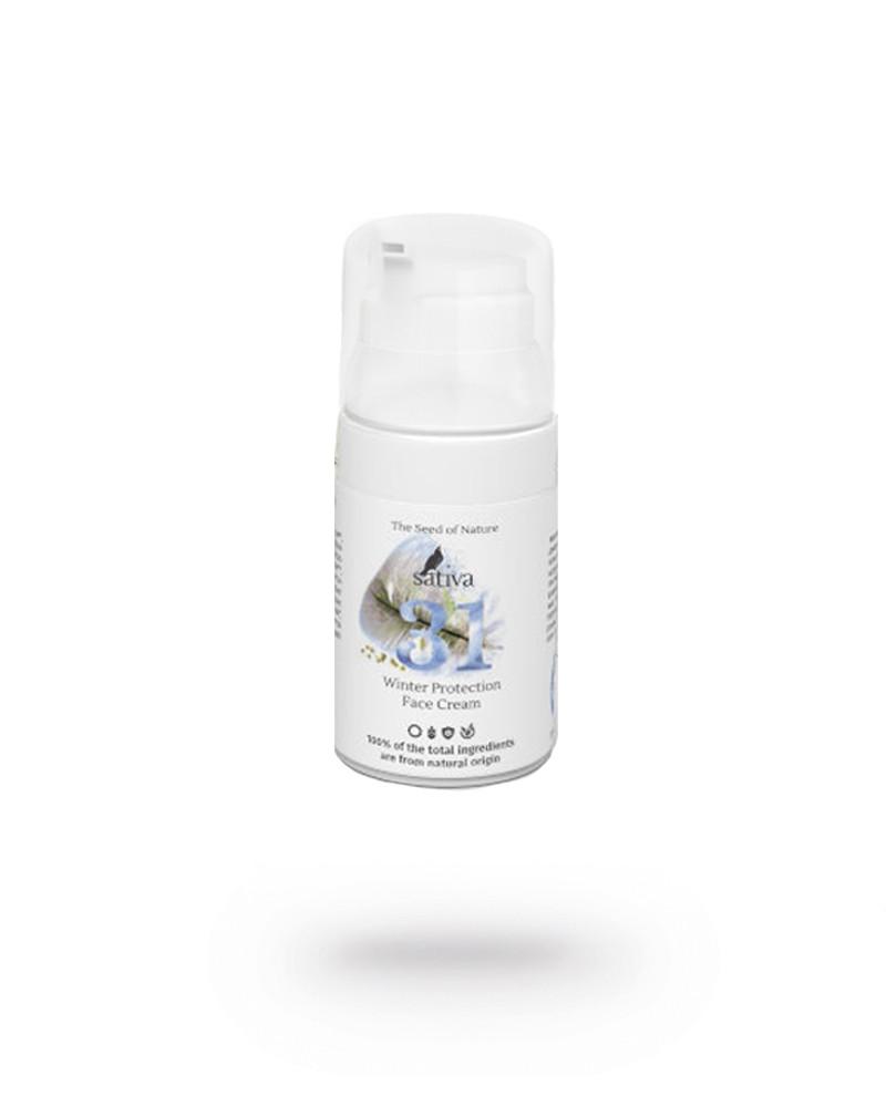 Крем для лица защитный HELP! Sativa №31