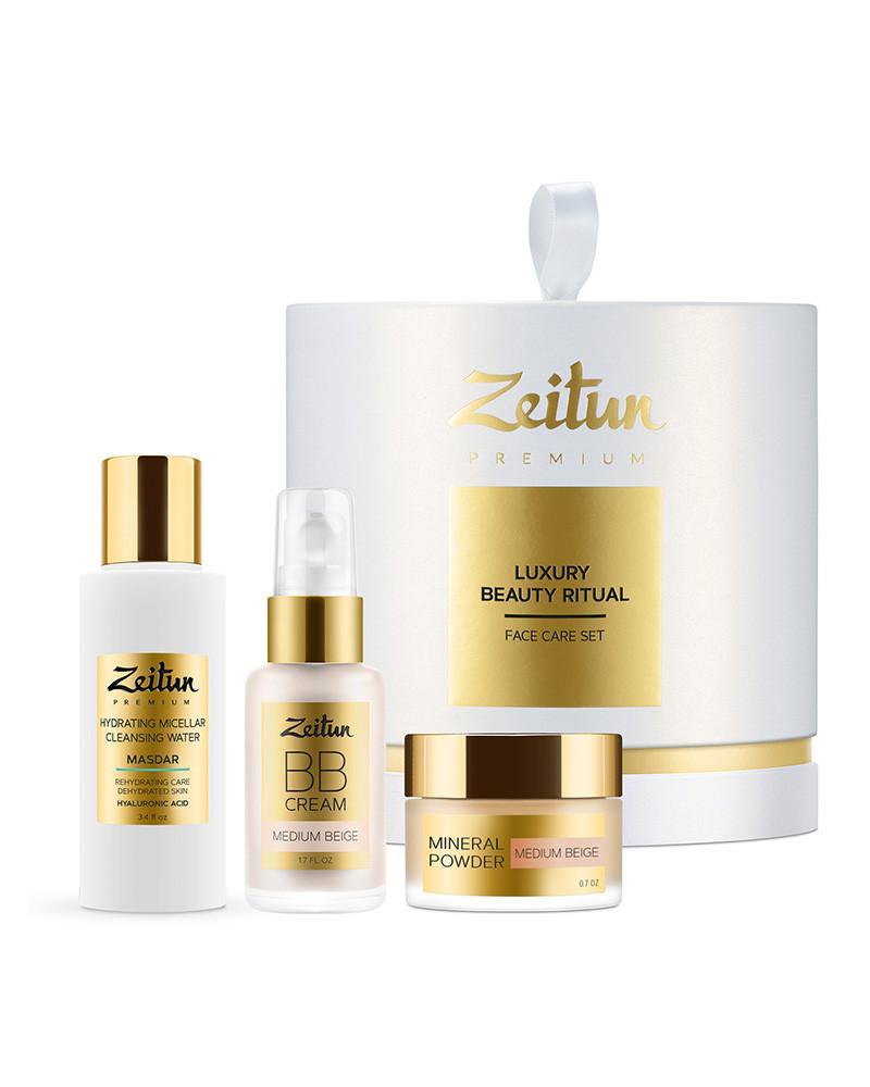 """Подарочный набор """"Luxury Beauty Ritual"""" для преображения кожи Zeitun"""