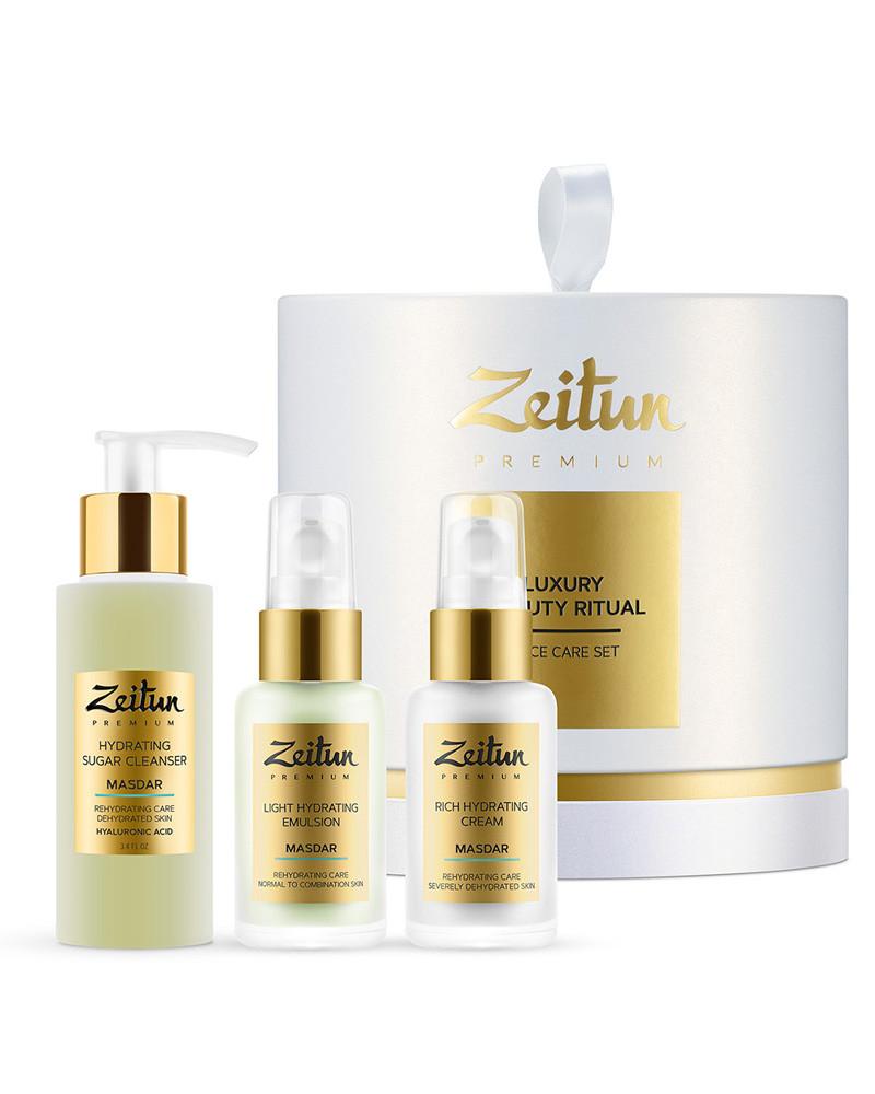 Набор Luxury Beauty Ritual для глубокого увлажнения кожи Zeitun